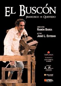 Cartel EL BUSCÓN. Teatro del Temple