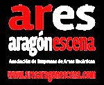 logo ARES Aragón Escena. Asociación de Empresas de Artes Escénicas