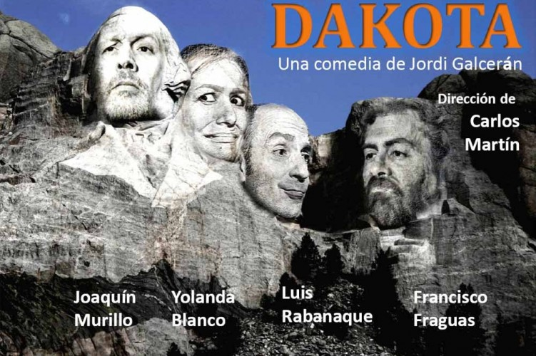 Cartel de Francisco Fraguas. Dakota. Teatro del Temple.