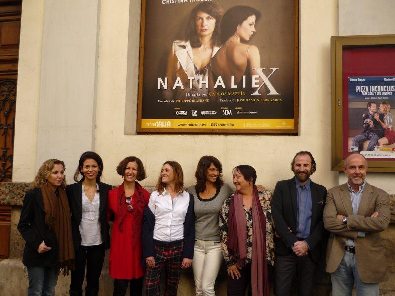 El día del Estreno de Nathalie X