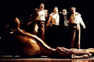 Buñuel, Lorca y Dalí. Teatro del Temple