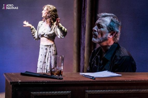Carmen Lanuit en el Teatro de las Esquinas