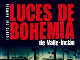cartel Luces de Bohemia