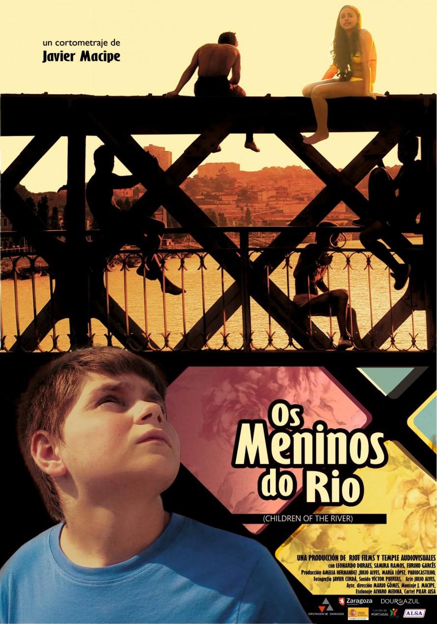 CARTEL Os Meninos do Rio. Dirección Javier Macipe (2013) Coproducción hispano-portuguesa.