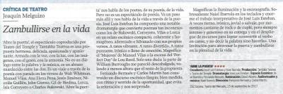 Heraldo 17 septiembre 2017 - CRÍTICA -