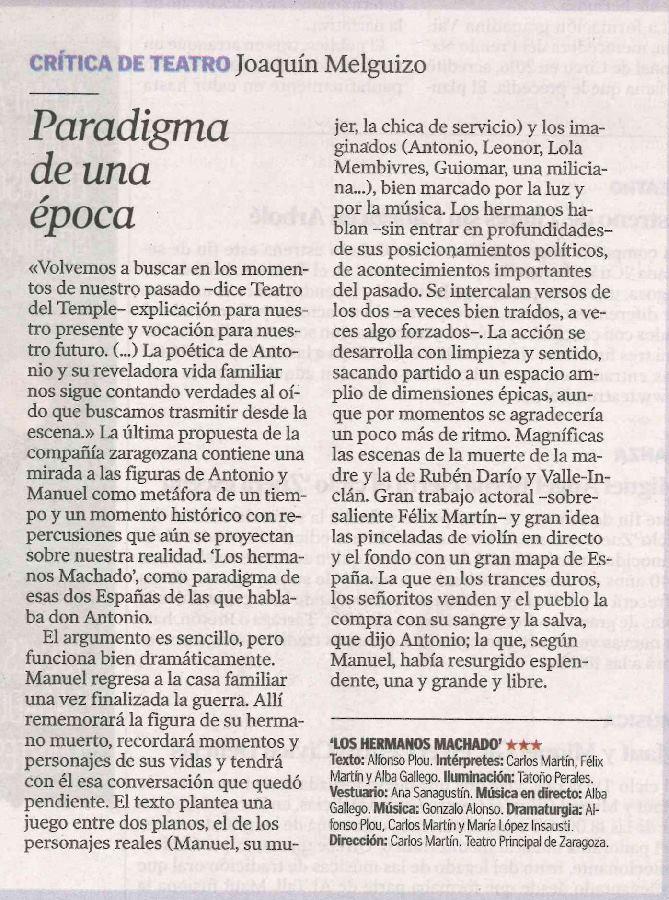 Critica-El-Periodico-Aragon-Melguizo-Hhermanos-Machado